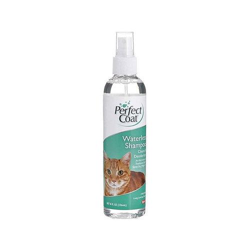 8in1 шампунь для кошек PC Waterless Shampoo без смывания спрей 236 мл