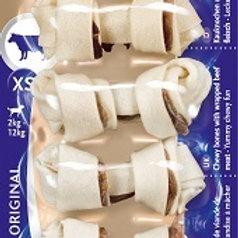 8in1 DELIGHTS Beef XS косточки с говядиной для мелких собак 7,5 см 7 шт