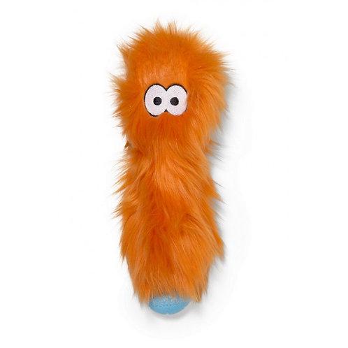 Zogoflex Rowdies игрушка плюшевая для собак Custer 10 см оранжевая