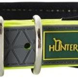 Ошейник Hunter Convenience Comfort 40 биотановый (27-35см) желтый неон