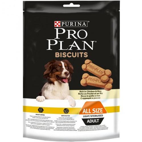 Purina Pro Plan бисквиты для собак с курицей и рисом (400г)