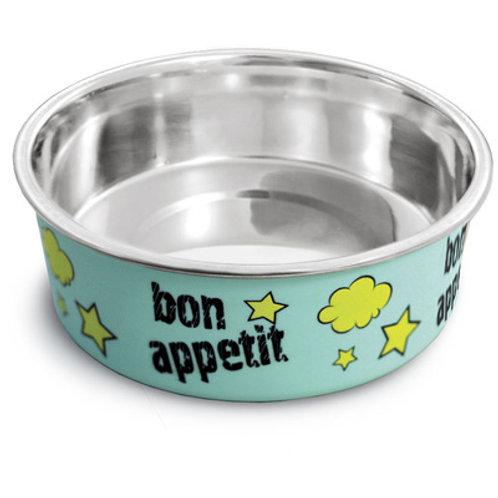 "Миска металлическая на резинке ""Bon Appetit"" 0,25л"