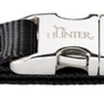 Hunter ошейник для собак ALU-Strong S (30-45см) нейлон черный