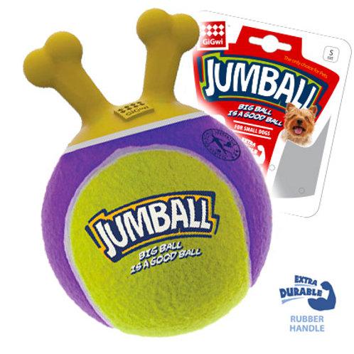 Игрушка Jumball из тенисной резины, 18см GiGwi