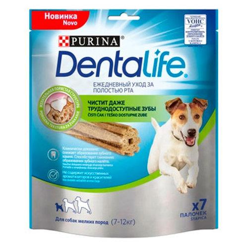 Лакомство для собак малых пород Здоровые зубы и десны Dentalife Small