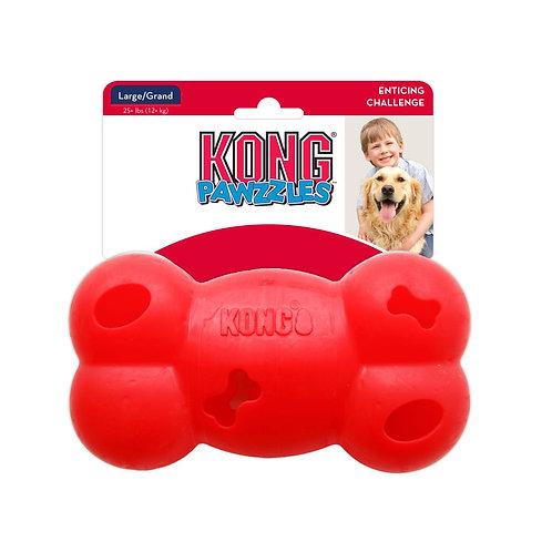 KONG Pawzzles игрушка для лакомств Косточка 12см