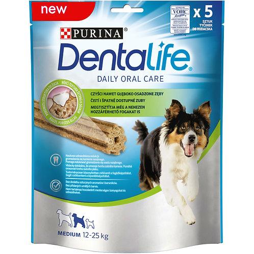 Лакомство для собак средних пород Здоровые зубы и десны Dentalife Medium