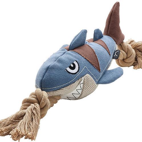 Hunter игрушка для собак акула 39 см с пищалкой