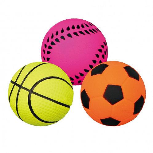 """Игрушка для собак """"Неоновый мяч"""" 6см"""
