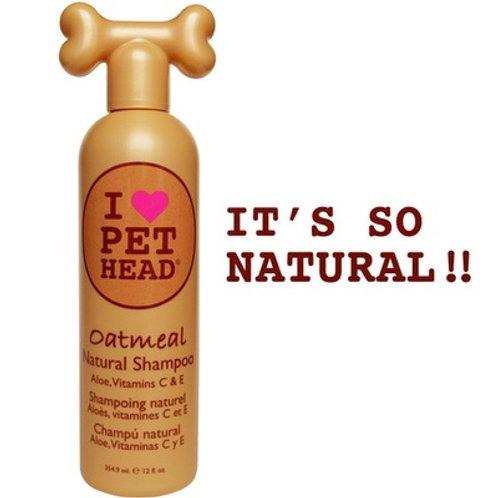 Шампунь 100% натуральный для собак с маслом овсянки и жожоба