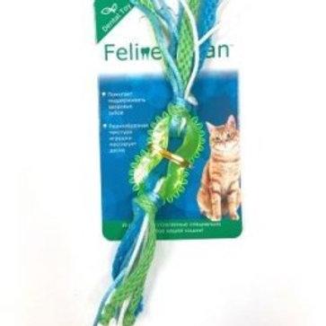 Feline Clean игрушка для кошек Dental колечко прорезыватель