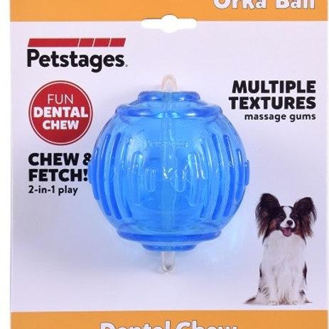 """Игрушка для собак """"ОРКА теннисный мяч"""", 6см"""