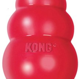 """Kong Classic игрушка для собак """"КОНГ"""" М средняя 8х6 см"""
