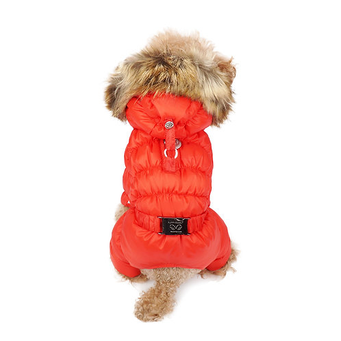 Комбинезон Puppy Agel унисекс (M/L красный)