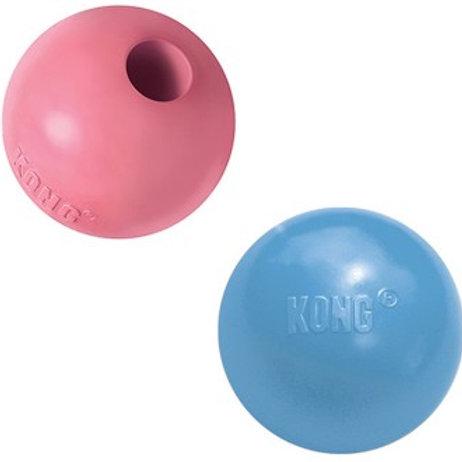 """KONG Puppy игрушка для щенков """"Мячик"""" 6 см цвета в ассортименте: розовый, голубо"""