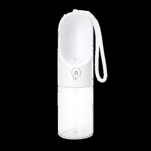Прогулочная бутылка для животных S 300мл (белый)