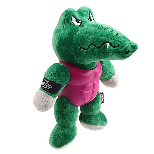 """Игрушка """"Крокодил"""" в защите с пищалкой GiGwi"""