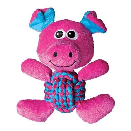 Игрушка для собак Weawe Knots Свинка средняя 22х20см