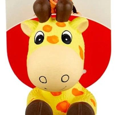 Kong игрушка для собак Wiggi Жираф 22х12см