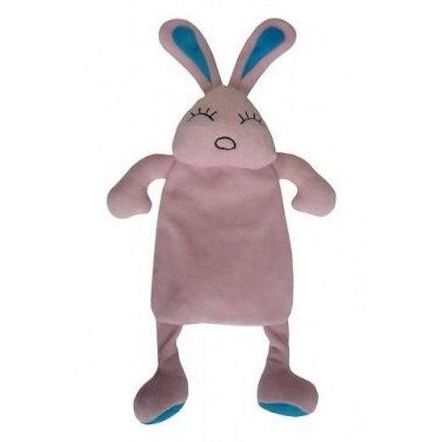 """Игрушка для собак """"Кролик"""" шуршащий, с пищалкой плюш 35см"""