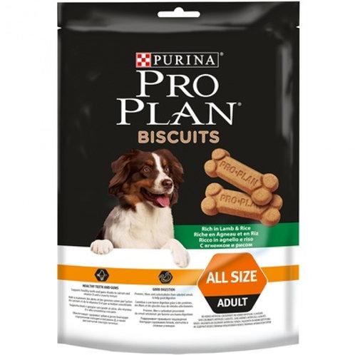 Purina Pro Plan бисквиты для собак с ягненком и рисом (400г)