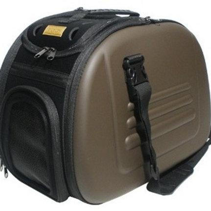 Ibiyaya складная сумка-переноска для собак и кошек до 6кг, коричневая