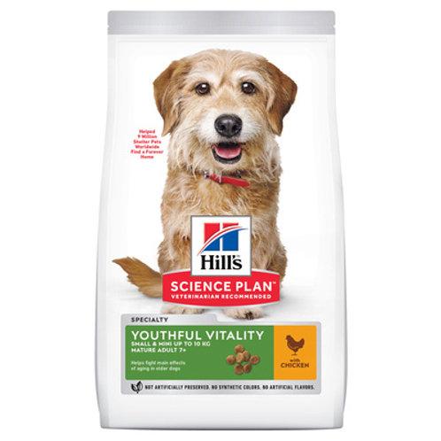 Hill's Сухой корм для пожилых собак малых пород 7+