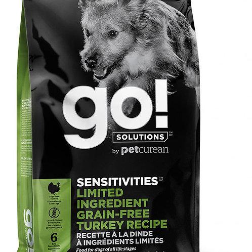 Беззерновой корм для щенков и собак с индейкой для чувств. пищеварения