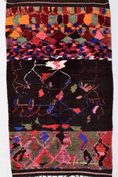 Boujaad Teppich, marokkanischer Teppich, Vintage