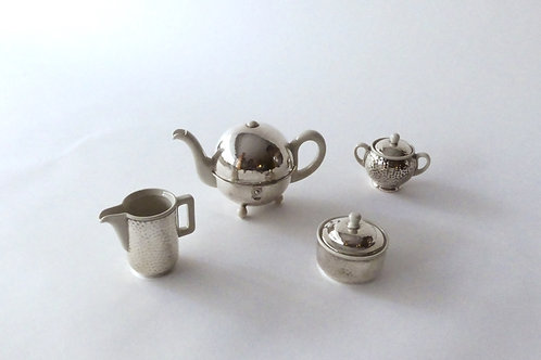 WMF Art Deco Tee Set, Zürich