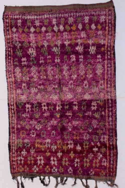 Boujaard Teppich, Marokko, Berber Teppich, Vintage