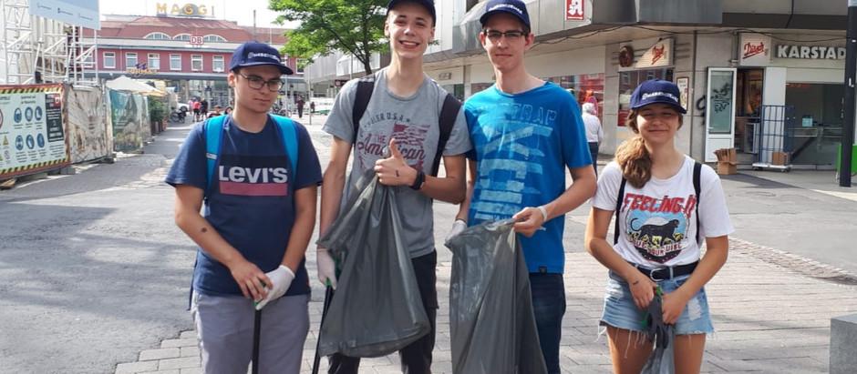 CleanUp Challenge in Singen