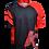 Thumbnail: חולצת רכיבה פרי-רייד לגברים JE-846-S שחור אדום