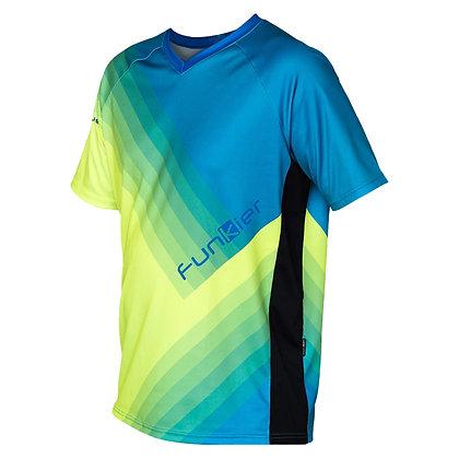 חולצת רכיבה פרי-רייד לגברים JE820 כחול