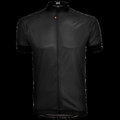 חולצת רכיבה קצרה לגברים J-930 שחור