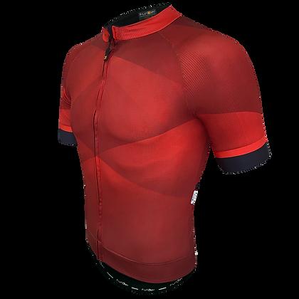 חולצת רכיבה קצרה לגברים J-848-BU-F