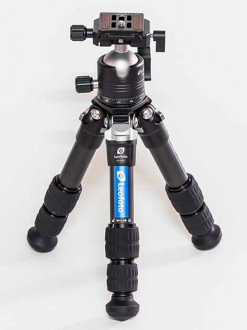 Leofoto LS-223C+EB-36 Portable Carbon Fiber Tripod