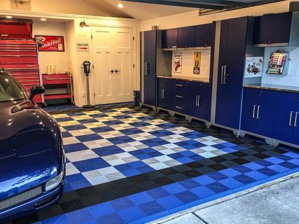 Garage-Application.-Royal-Blue-Jet-Black-Arctic-White-Ribtrax..jpg
