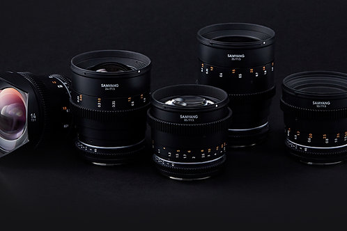 Samyang VDSLR MK2 Cine Lens Set EF마운트