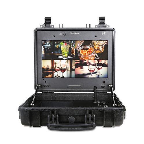 Best view SP15 4K  휴대용 케이스  15인치 모니터