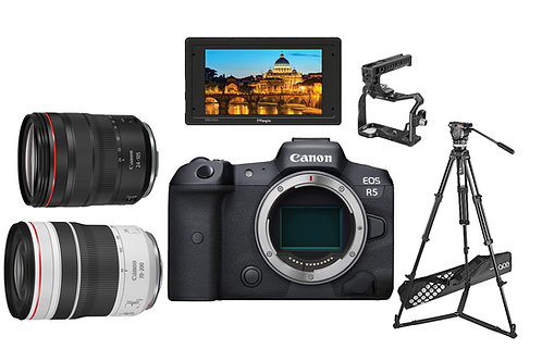 Canon R5 RF 24-105, 70-200 SET
