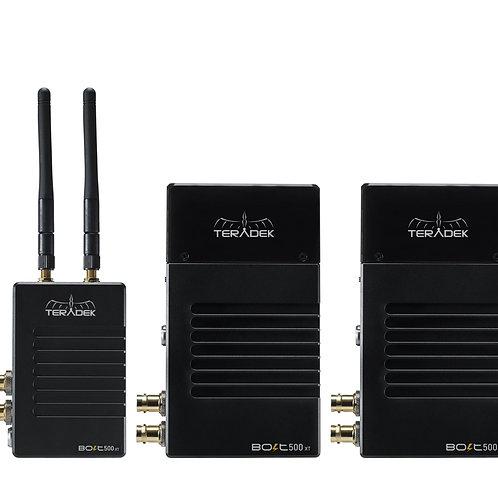 TERADEK Bolt 500 XT SDI/HDMI Wireless TX/RX   1:2