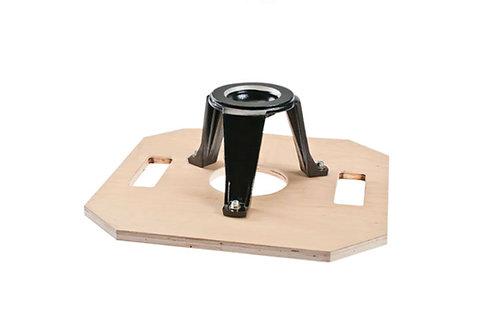Octagon Board 100mm Hi-Hat Bowl On Octagon Board