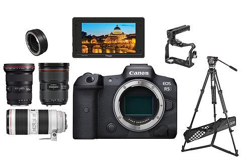Canon R5 EF 16-35,24-70,70-200  SET