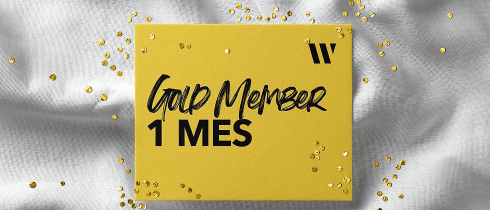 Gold Member 1 Mes