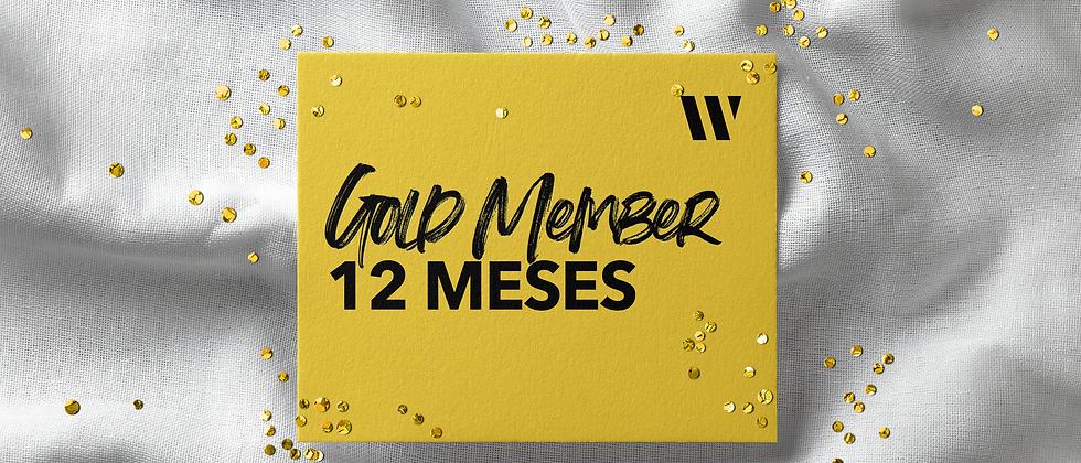 Gold Member 12 Meses