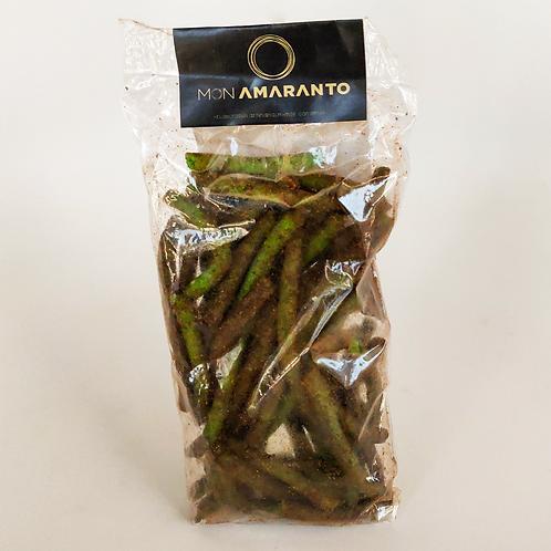 Churritos de Amaranto y Nopal 100 g (sabor chipotle y chilito) - Mon Amaranto