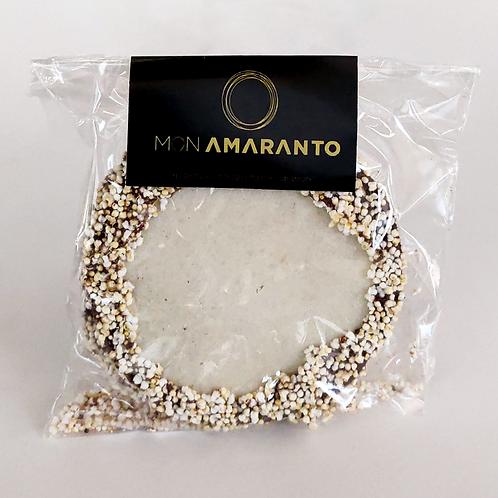 Mini Obleas de amaranto rellenas de cacao 27 g - Mon Amaranto