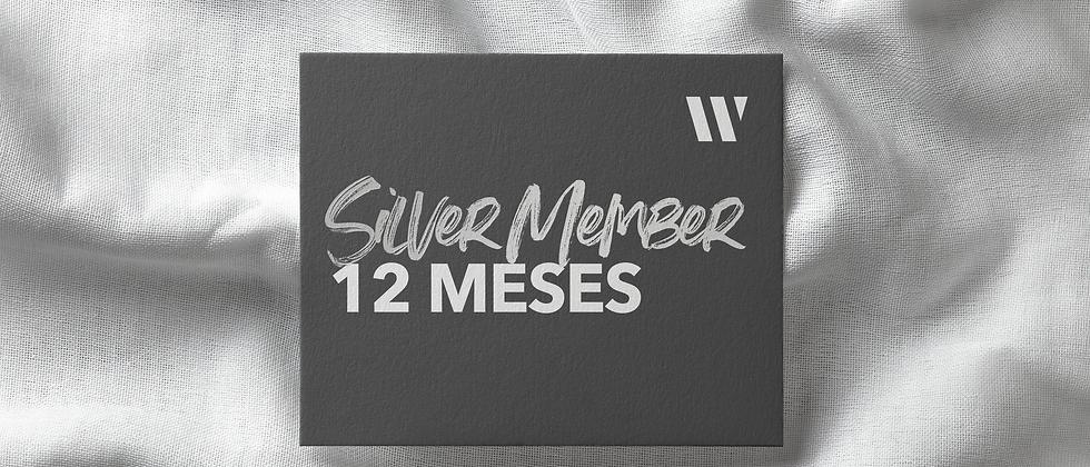 Silver Member 12 Meses
