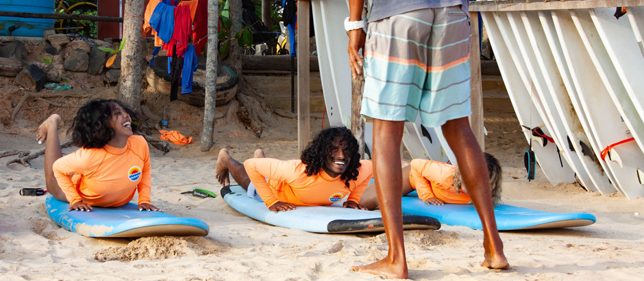 Top 5 reasons Freedom Surf School is the best in Weligama